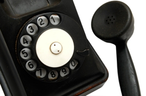 Free stock image of an old phone.  Maybe I could have got an image of a new one if I were prepared to pay for it).